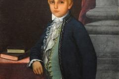 "Ramón Power y Giralt (1871) Francisco Oller - Óleo sobre lienzo 36"" x 44"""