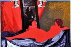 """La Venus Roja (1979) Myrna Báez Serigrafía, p/a 19"""" x 26"""""""