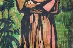 """San Francisco (1979) Myrna Báez Serigrafía 32"""" x 13"""""""