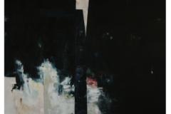 "The Deeps No.11 (2014) Wilfredo Chiesa Óleo sobre lienzo 54"" x 48"""