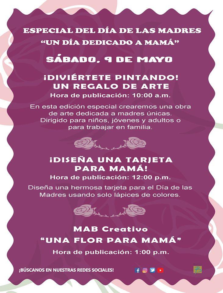 Programación Especial para el Día de las Madres