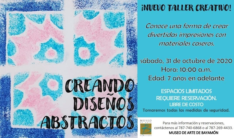 Taller: Creando Diseños Asbtractos