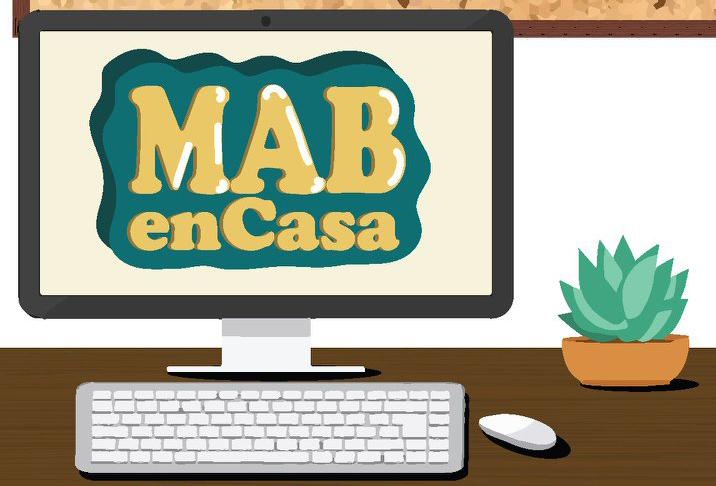 Logo MAB en Casa