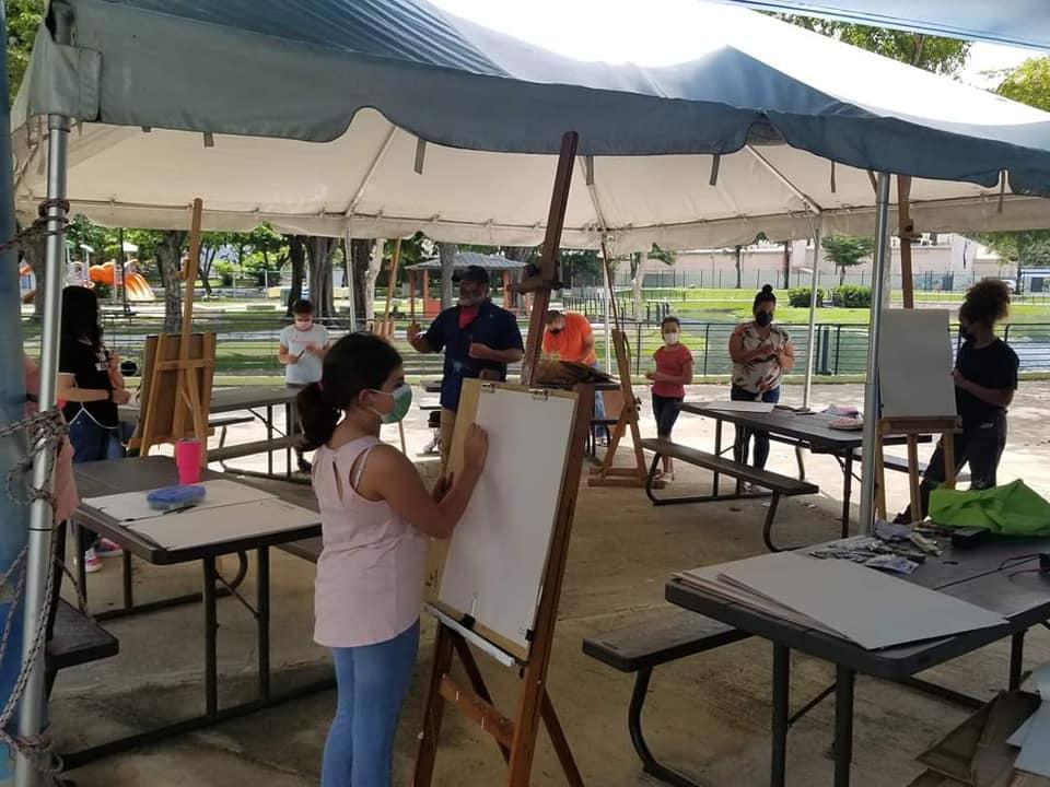Taller: Pintando al Aire Libre