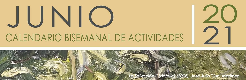 Calendario de Actividades para Primera Bisemana de Junio
